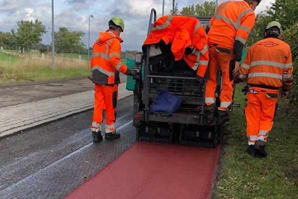 rød-asfalt-fra-Colas-i-Lejre-kommune